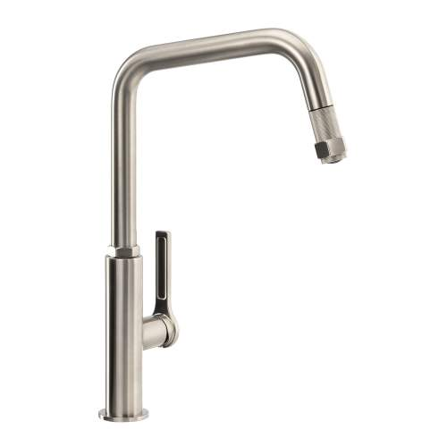 Abode HEX Single Lever Pull Out Kitchen Tap AT2088