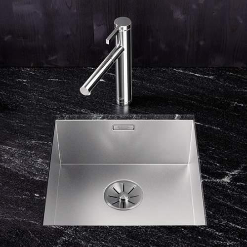 Blanco ZEROX 400-U Durinox Undermount 1.0 Bowl Sink