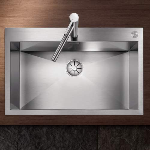 Blanco ZEROX 700-IF/A Durinox Inset 1.0 Bowl Sink with Tapledge