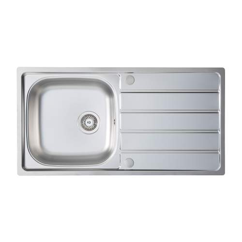 Bluci Liro 100L Single Bowl Sink and Tap Pack
