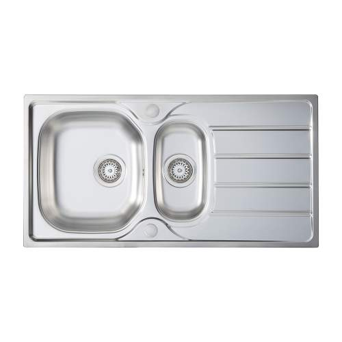 Bluci Liro 150 1.5 Bowl Sink and Tap Pack