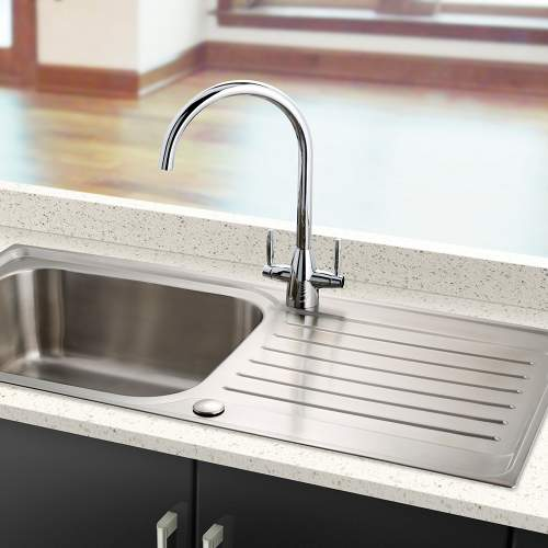 Bluci RIENZA Twin lever Kitchen Tap