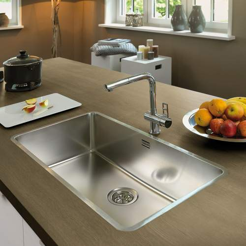 Reginox OHIO 80x42 Wide Bowl Kitchen Sink - RF604S