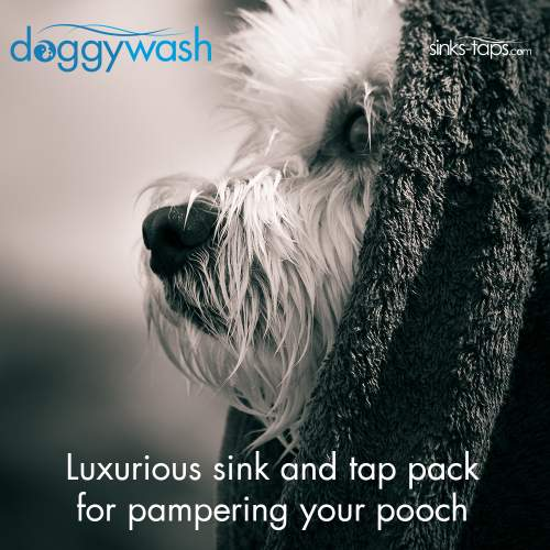 Dog Washing Sink and Tap Pack