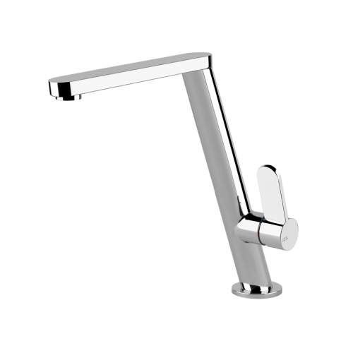 Gessi Incline Side Lever Mixer Tap with Hi-Swivel Spout
