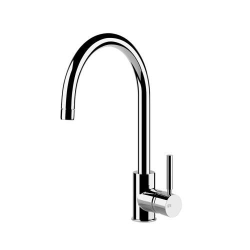 Gessi Neutron single side lever monobloc mixer tap with C-spout