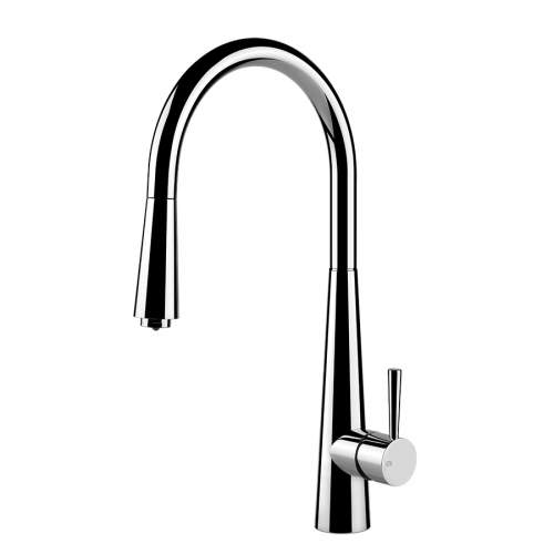 Gessi Just Single Lever Pull-Out Kitchen Tap with LED Light