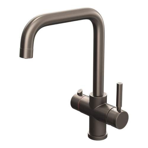 Reginox Amanzi 3-in-1 Instant Hot Water Tap in Gunmetal