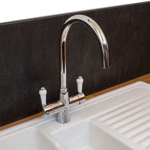 Reginox Amanzi Vechi 3-in-1 Traditional Instant Hot Water Kitchen Tap