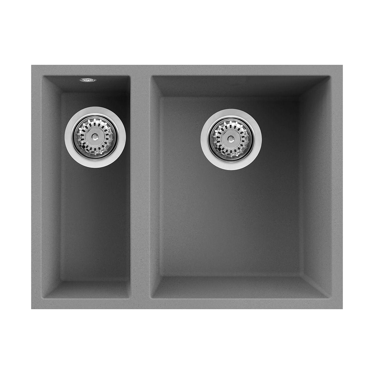 Reginox Quadra 150 Undermount 1 5 Bowl Granite Kitchen Sink Sinks Taps Com