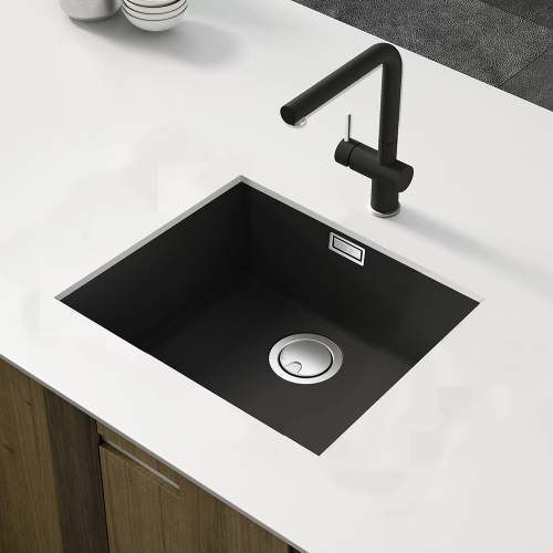 Reginox Zen 105 Large Single Bowl Granite Kitchen Sink