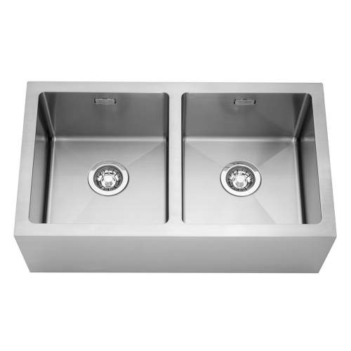 Caple Stainless Steel Double Bowl Belfast Kitchen Sink