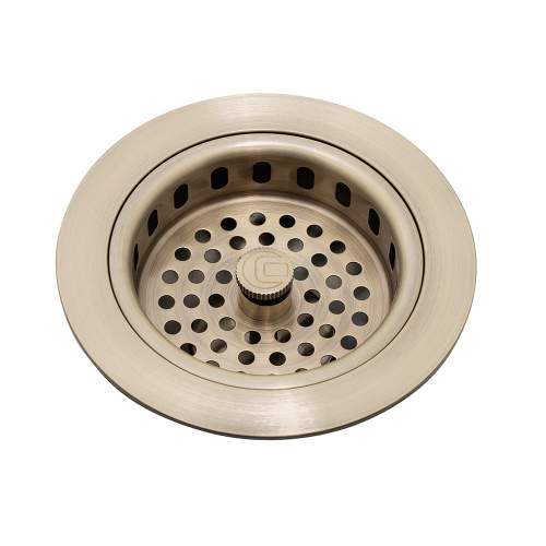 Caple Antique Brass 90mm Basket Strainer Waste