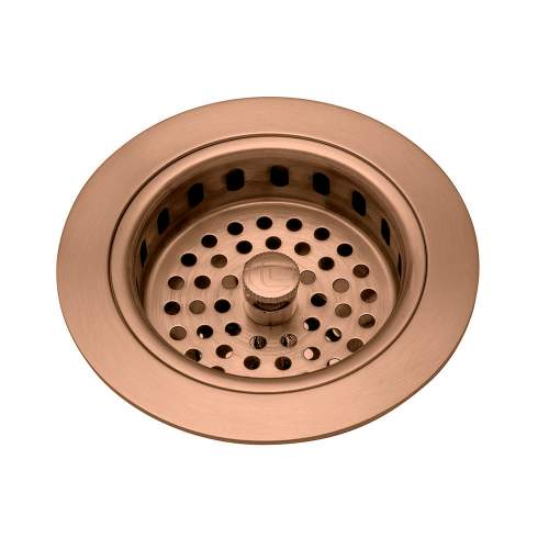Caple Copper 90mm Basket Strainer Waste