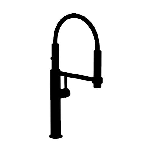 Franke PESCARA 360 Degree Single Monobloc Tap