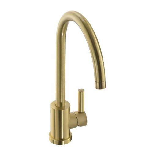 Abode ATLAS Single Lever Kitchen Tap Brushed Brass