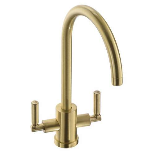 Abode ATLAS Cruciform Kitchen Tapin Brushed Brass