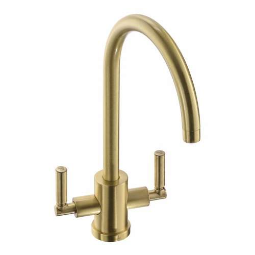 Abode ATLAS AQUIFIER Water Filter Kitchen Tap in  Brushed Brass