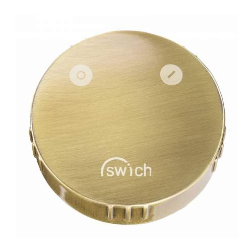 Abode SWICH Water Filter Diverter with Classic Filter in Brushed Brass
