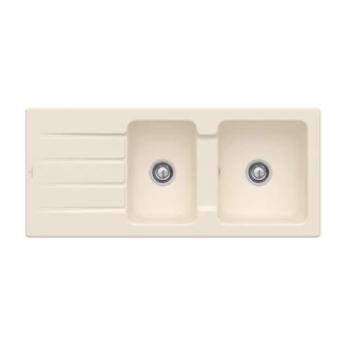 Villeroy & Boch Architectura 80 Classic Line 1.75 Bowl Ceramic Sink - 338001FU
