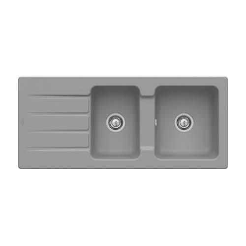 Villeroy & Boch Architectura 80 Classic Line 1.75 Bowl Ceramic Sink - 338001SL