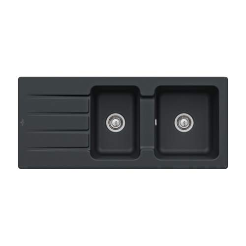 Villeroy & Boch Architectura 80 Classic Line 1.75 Bowl Ceramic Sink - 338001S5