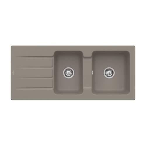 Villeroy & Boch Architectura 80 Classic Line 1.75 Bowl Ceramic Sink - 338001TR
