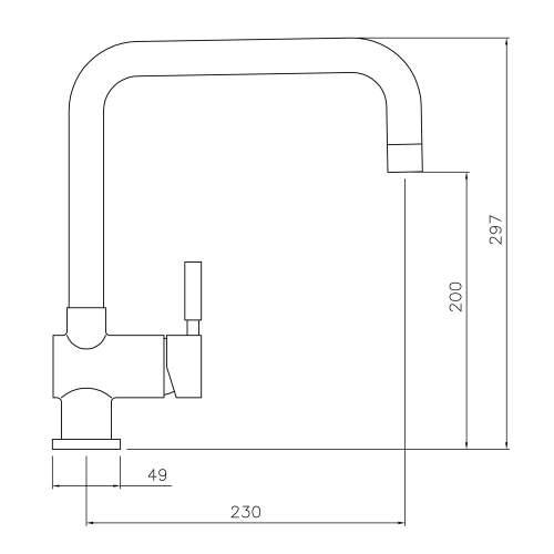 Abode Propus Single Lever Tap