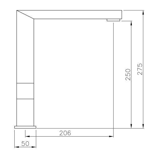 Abode VIXO Designer Monobloc Kitchen Tap