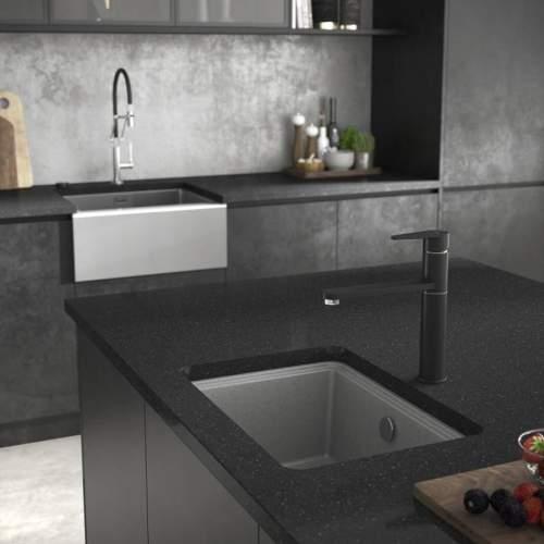 Abode Denton Compact Granite Kitchen Sink