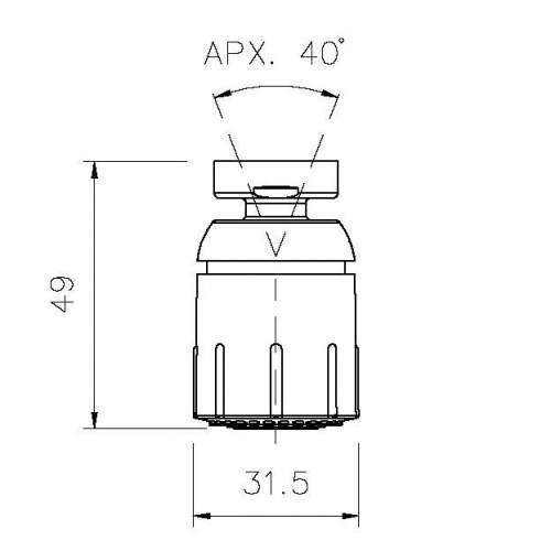 Abode Jet-Spray Aerator