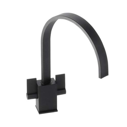 Abode AT1193 Atik Black Monobloc Kitchen Tap