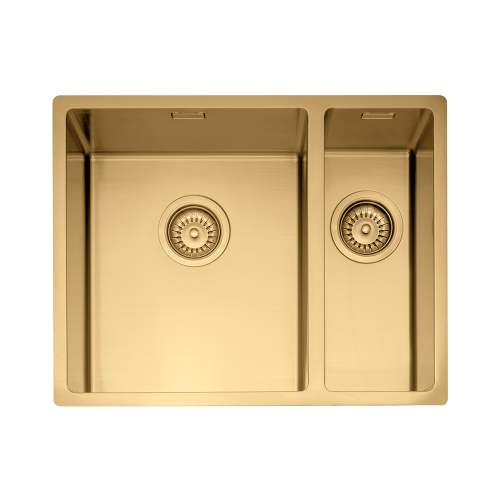 Caple MODE 3415 1.5 Bowl Kitchen Sink in Gold