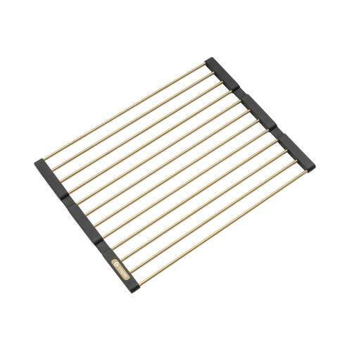Caple Universal Stainless Steel Fold Mat in Gold