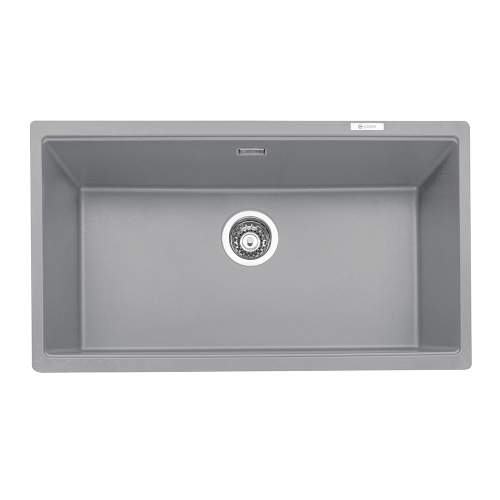 Caple Leesti 760 Large 1.0 Bowl Granite Kitchen Sink in Pebble Grey