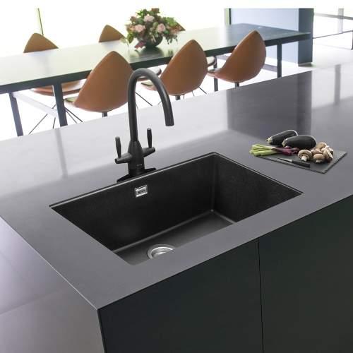 Caple Leesti 760 Large 1.0 Bowl Granite Kitchen Sink