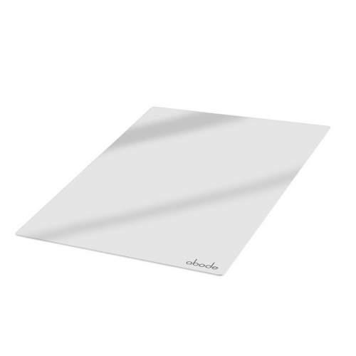 Abode AX2001 Tempered White Glass Sliding Sink Cover