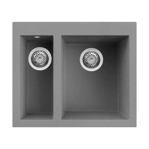 Reginox Quadra 150 Inset 1.5 Bowl Granite Kitchen Sink with Tap Wing