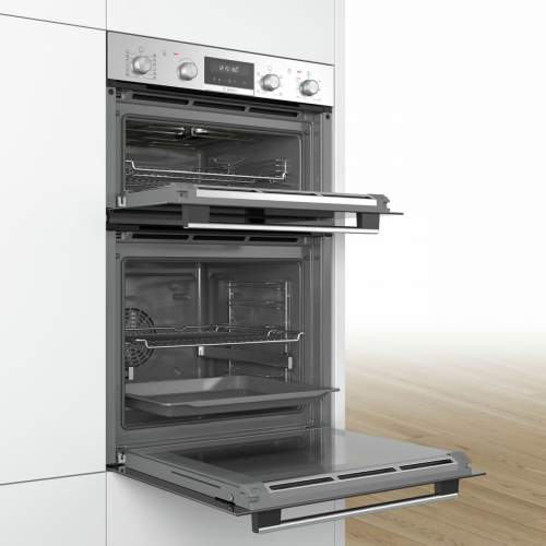 Bosch Serie 6 MBA5785S0B Stainless Steel Built-in Double Oven