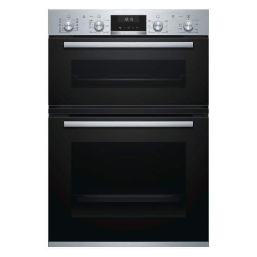 Bosch Serie 6 MBA5575S0B Stainless Steel Built-in Double Oven