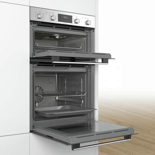 Bosch Serie 6 MMBA5350S0B Stainless Steel Built-in Double Oven
