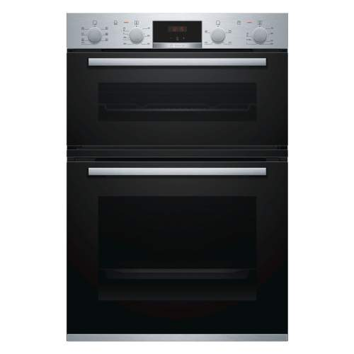Bosch Serie 4 MBS533BS0B Stainless Steel Built-in Double Oven
