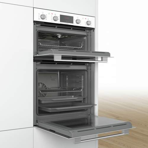 Bosch Serie 4 MBS533BW0B White Built-in Double Oven