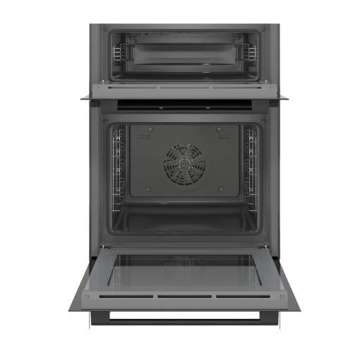 Bosch Serie 4 MBS533BB0B Black Built-in Double Oven