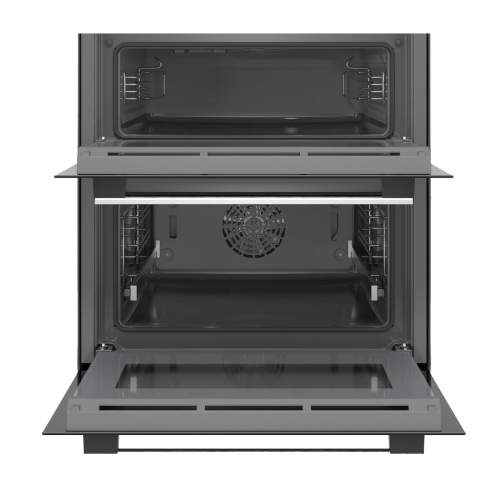 Bosch Serie 6 NBA5350S0B Stainless Steel Built-Under Compact Double Oven