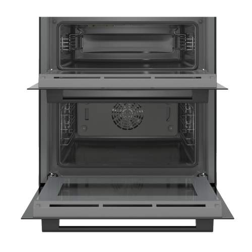 Bosch Serie 6 NBS533BB0B Black Built-Under Compact Double Oven