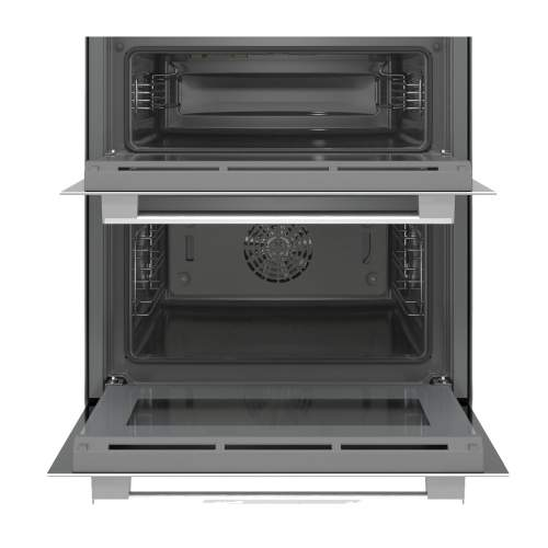 Bosch Serie 6 NBS533BW0B Black Built-Under Compact Double Oven