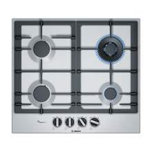 Bosch Serie 6 PCH6A5B90 60 cm Stainless Steel Gas Hob