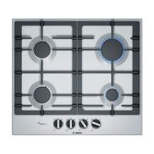 Bosch Serie 6 PCP6A5B90 60 cm Stainless Steel Gas Hob