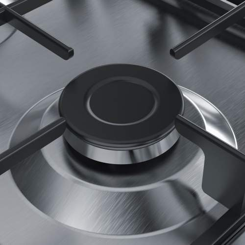Bosch Serie 4 PGP6B5B60 60 cm Stainless Steel Gas Hob
